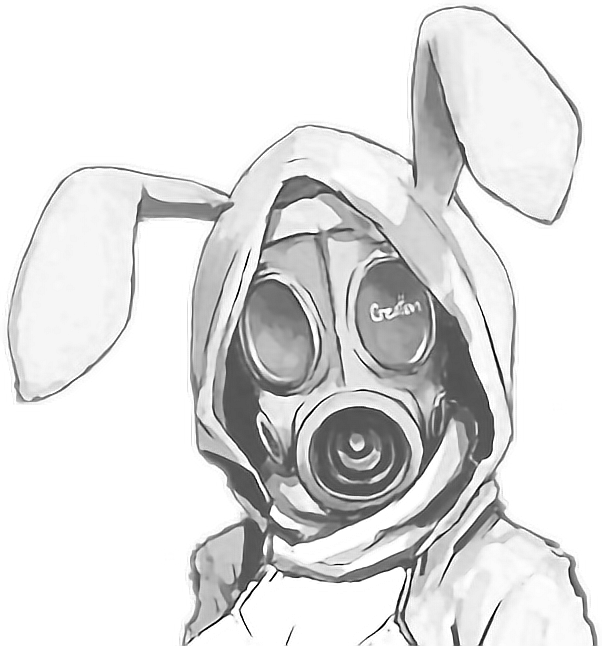 how to draw a gas mask easy