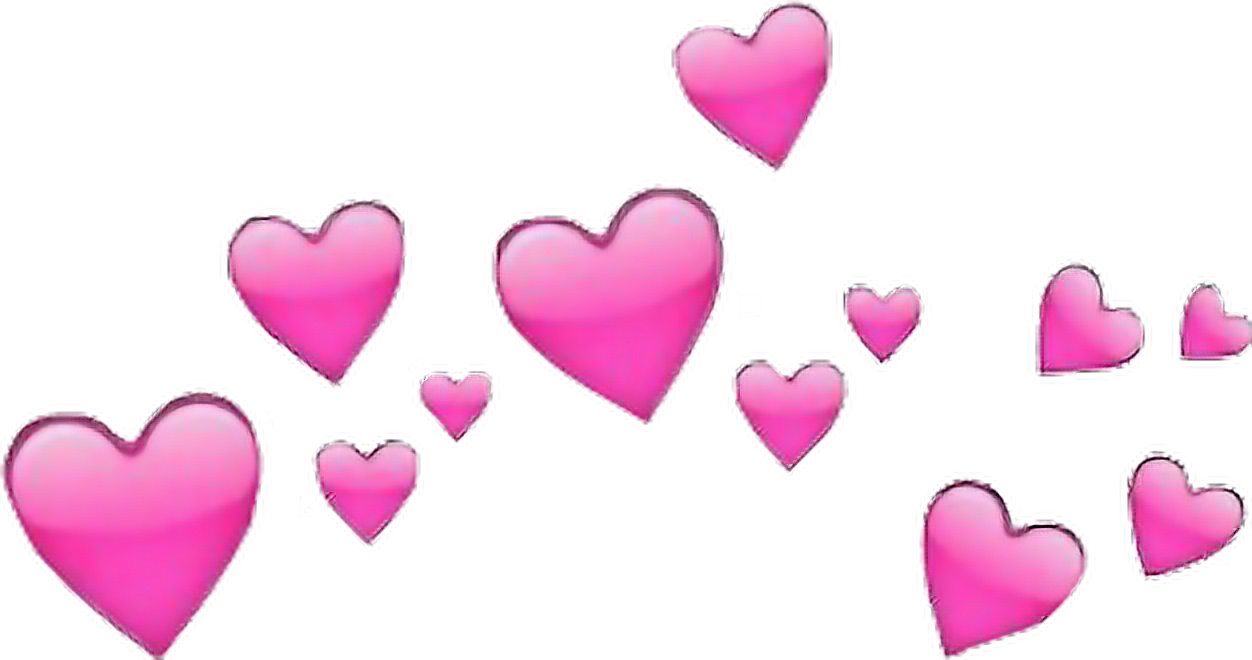 Corazones Rosa Corazon Emoji