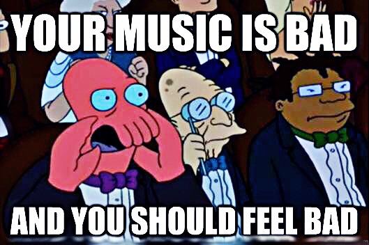 "Shut up Zoidberg! And listen to this https://youtu.be/wHiGR0iuTUo ...#punkRock #NoFeelings cause im a ""robit"" #FreeToEdit"