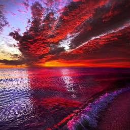 sunrise sunset shoreline beach beautiful
