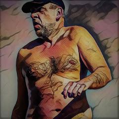 freetoedit bodyart topless nudeart summer