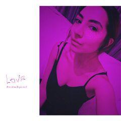 freetoedit neonlights purple