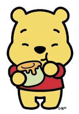 bear winniethepooh cute drawn cartoon