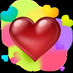 hearts colorful love freetoedit