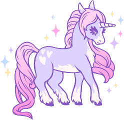 pastel goth kawaii pony freetoedit
