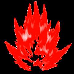 aura energy red power fantasy