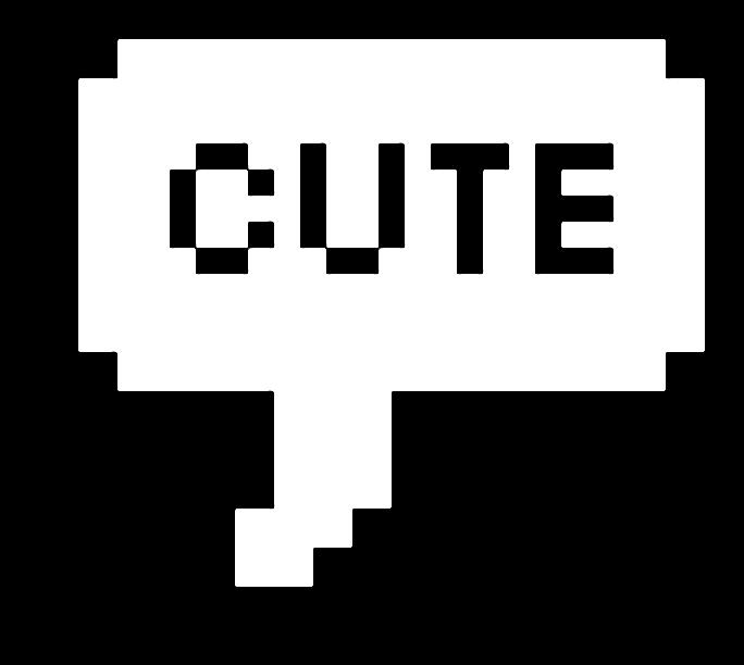 Cute Pixel Text Textbox PixeltextFreeToEdit