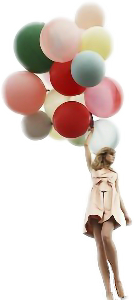 #ftestickers #balloons #woman