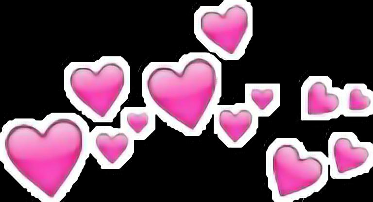 Headband Hearts Tumblr Emoji Iphone Heart