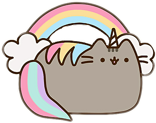 #unicorn #pusheencat #rainbow