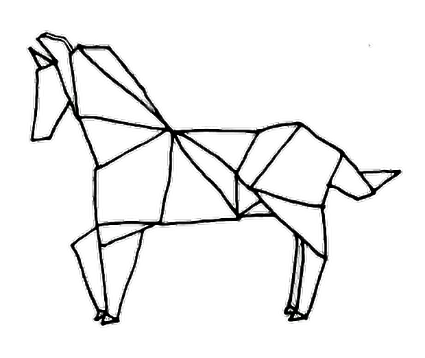 Tumblr Drawings Tumblrdrawing Horse Outline Outlinetumb