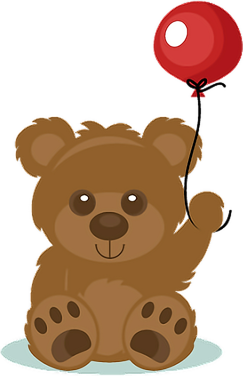 #bear #balloon#FreeToEdit