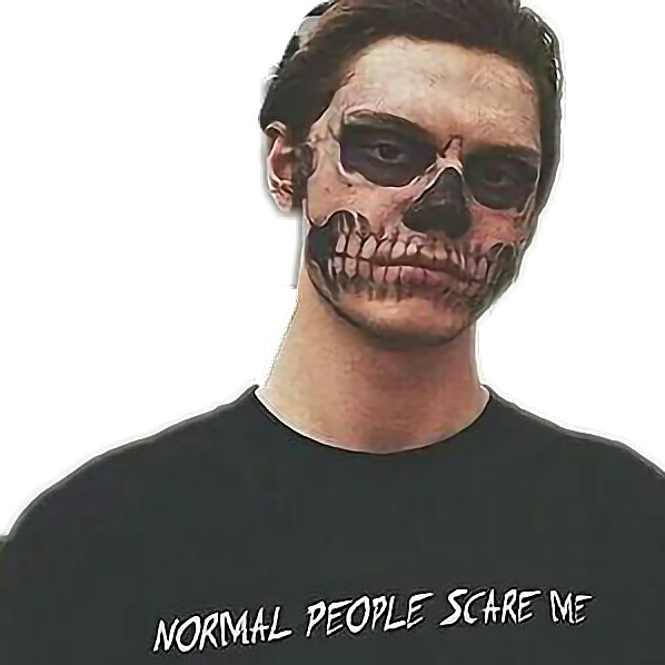#normalpeoplescareme #evan peters #evanpeters #fxf #americanhorrorstory #ahs #horror #tate #tate langdon #langdon