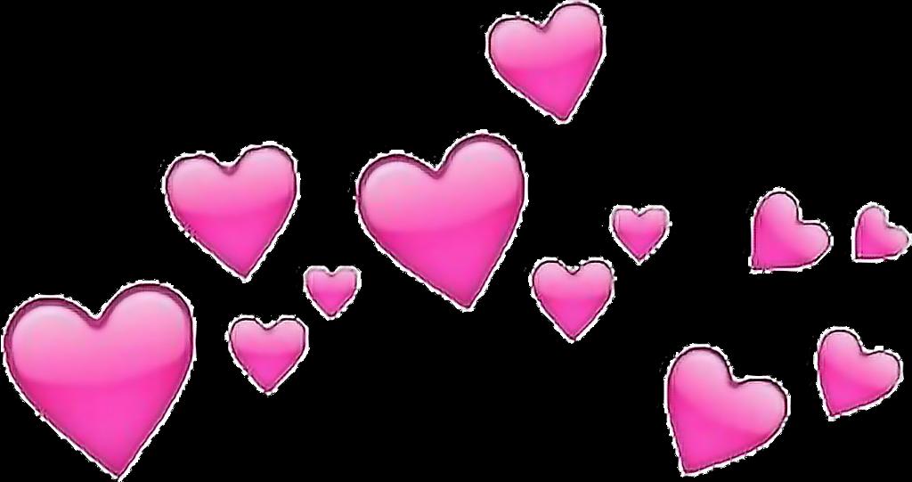 #hearts #heartcrown #flowercrown #tumblr #aethetics #overlay #emoji #freetoedit
