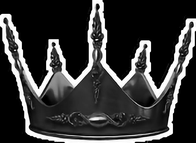 #crown #darkcrown #black #blackcrown #