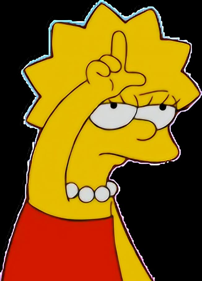 Lisasimpson Loser Simpson Simpsons Aesthetic Tumblrfree
