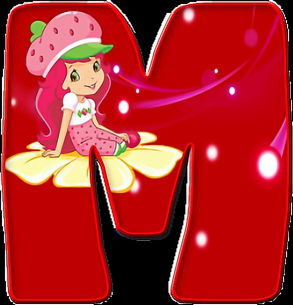 #sticker#alphabet#em#emme#m#red#letter#cute#letter