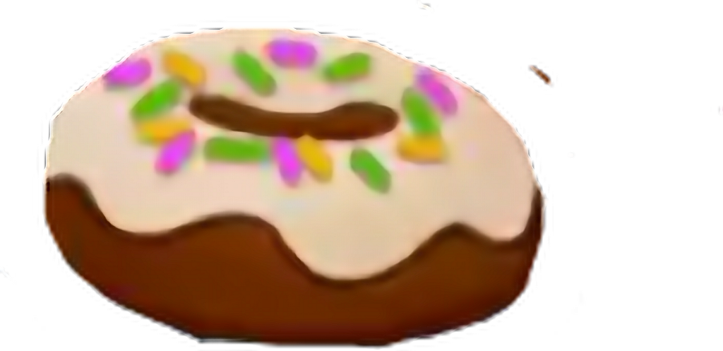 #Donut #Choclate #Vanilla #Brown #White #Cream #Sprinkles💕 #freetoedit