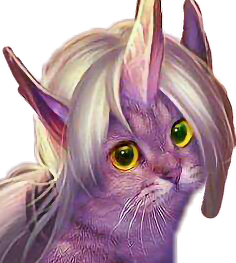#catlove #cats #catlover #cat #soraka #lol #leagueoflegends #support #cute #colorful #purple #whitehair