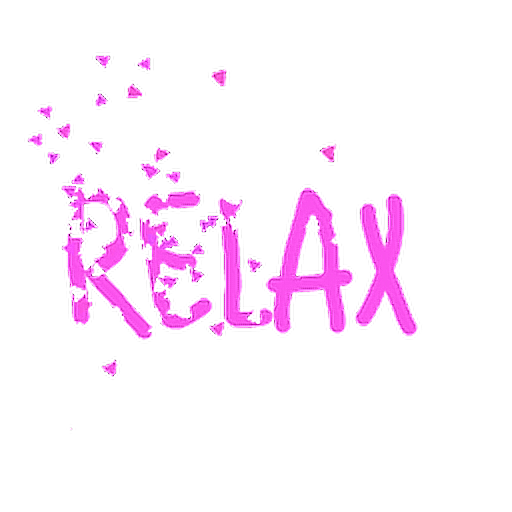 #relax #dispersion #text #pastel #pink