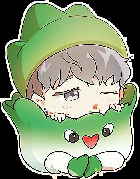 Jimin Cute Bts Sticker By Babytaedrog