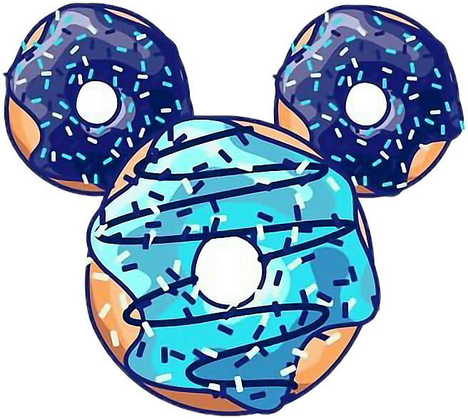 #disney #donut #mikey #blue #food #cool #tumblr #boy#freetoedit