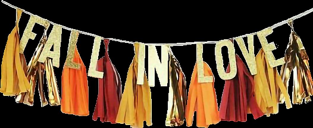 #fallinlove #words #say #quotes #fall #hellofall #fallcolors #tassels #banner #sticker