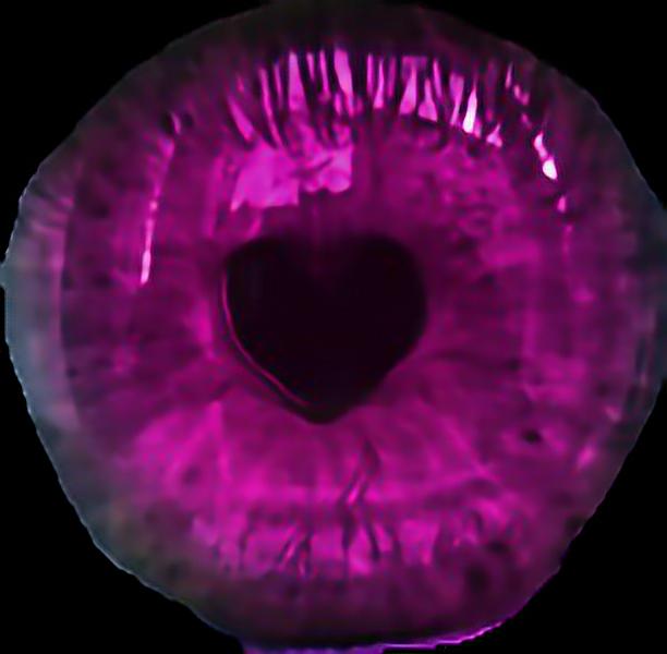 #pink #eyes
