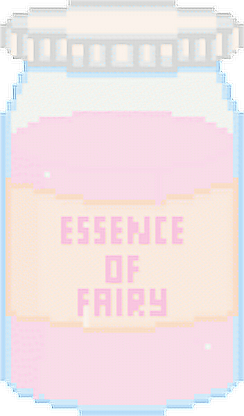 💖NOT MY ART💖 Essence of fairy 🌸🎀🌸#kawaii #fairy #jar #freetoedit