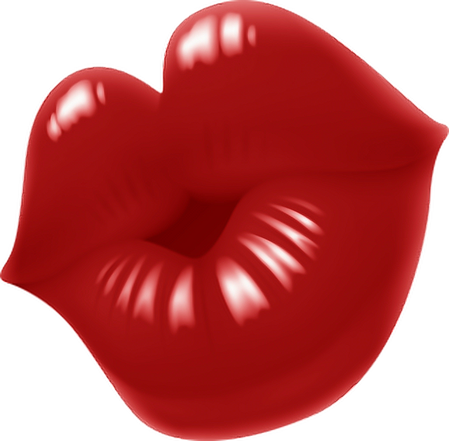 kiss lips bisous ftestickers stickers autocollants smil