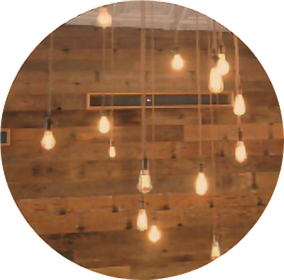 #brown #hanging #lights #bulb #string #wood #circle #aesthetic #aestheticcircle