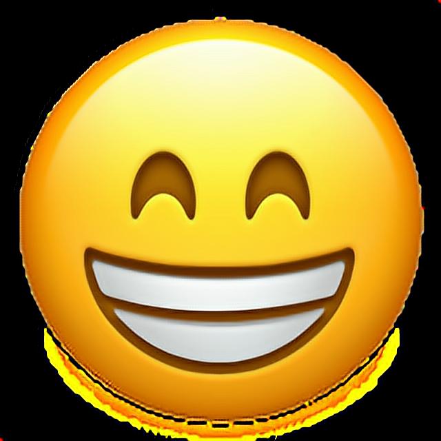 Funny face emoji 😁 funny emoji emoticon iphone iphonee