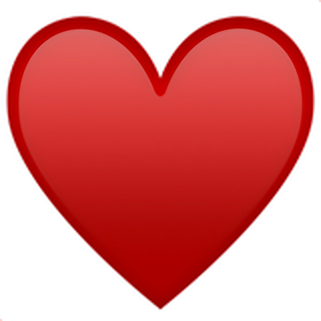 •Heart Emoji ♥ Heart Emoji Emoticon Iphone Iphoneemoji