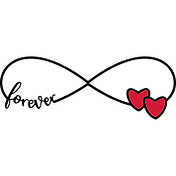 Stickers infini love - Color-stickers |Infinite Love Png
