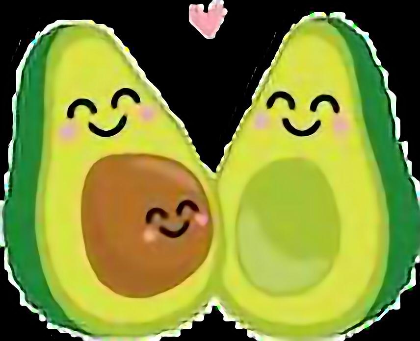 Cute Couple Avocado Avocados Sweet Art Pixelart Love