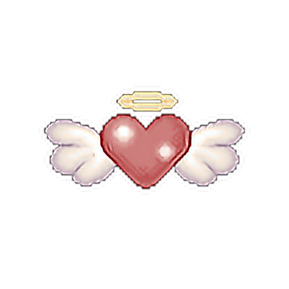 Heart Wings Angel Pixel Pixel Art Aesthetic Tumblr