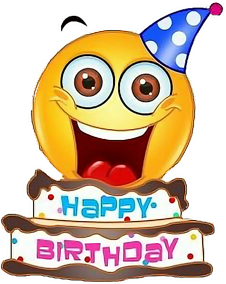 Emoji Birthday Happy Text Happybirthday Freetoedit
